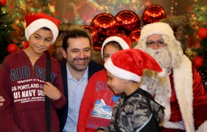 Pr Minister Saad Hariri Celebrating Christmas at the the Grand Serail 5