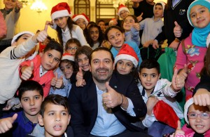 Pr Minister Saad Hariri Celebrating Christmas at the the Grand Serail