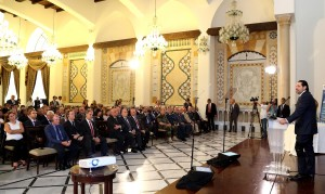Pr Minister Saad Hariri Ianaugurates a Conference at the Grand Serail 3 (1)