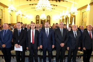 Pr Minister Saad Hariri Ianaugurates a Conference at the Grand Serail 6