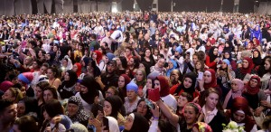 Pr Minister Saad Hariri Attends a Festival for Almustaqbal Womens Party 8