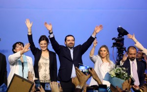 Pr Minister Saad Hariri Attends a Festival for Almustaqbal Womens Party