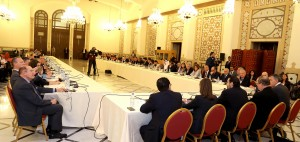 Pr Minister Saad Hariri Heading a Meeting for High Level Steering Committee
