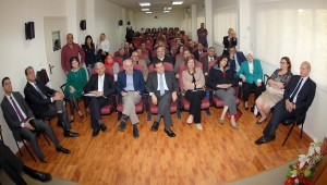 Lecture for Minister Boutrs Hareb at Lebanese University 1