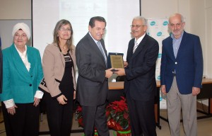 Lecture for Minister Boutrs Hareb at Lebanese University 2
