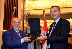 Mr Philip Lazarini Honors Mr Albert Matta at Abu Dhabi Rotana Hotel 2