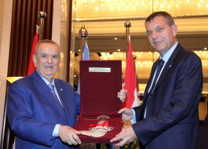 Mr Philip Lazarini Honors Mr Albert Matta at Abu Dhabi Rotana Hotel 4