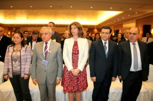 Mrs Lama Salam Attends the LAU Conference at Movenpick Hotel 4