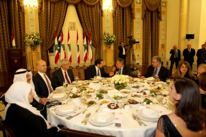 Diner Hosted By Pr Minister Saad Hariri in Honors of AUB 10
