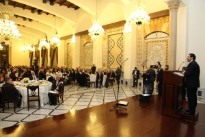Diner Hosted By Pr Minister Saad Hariri in Honors of AUB 2