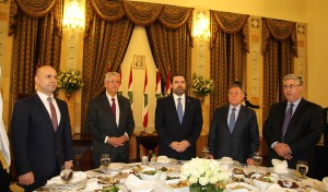 Diner Hosted By Pr Minister Saad Hariri in Honors of AUB 7