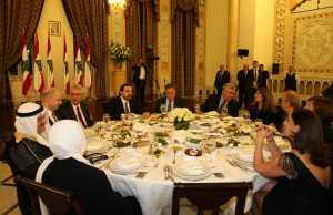 Diner Hosted By Pr Minister Saad Hariri in Honors of AUB 9