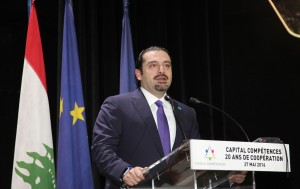 Former Pr Minister Saad Hariri Inaugurates the Rafic Hariri Building at ESA 5