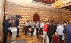Iftar Hosted By Former Pr Minister Saad Hariri in Honours of Lebanese Students 1