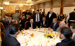 Iftar Hosted By Pr Minister Saad Hariri in Honours of Beirut Families