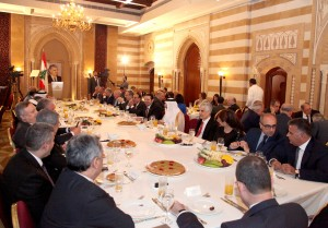 Iftar Hosted by Former Pr Minister Saad Hariri in Honors of Ambassadors