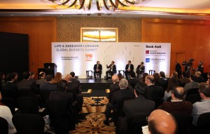Lecture for Pr Minster Saad Hariri at Four Season Hotel (1)