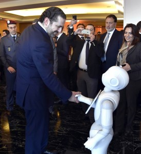 Lecture for Pr Minster Saad Hariri at Four Season Hotel3 (1)