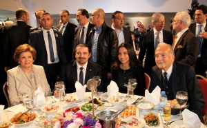 Lunch Hosted By Mrs Myriam Skaff in Honors of Former Pr Saad Hariri at Hotel Kadri 2