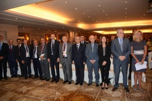 Minister Rashid Derbes Inaugurates a Conference for the Syrian Refuges in Movenpick Hotel 1