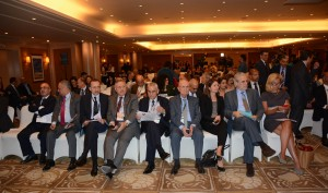 Minister Rashid Derbes Inaugurates a Conference for the Syrian Refuges in Movenpick Hotel 5