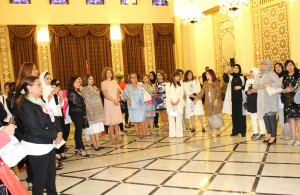 Mrs Lamam Salam meets a Delegation of Arab Lebanese Busnisswomen 3