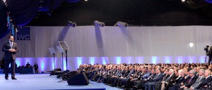 Pr Minister Designated Saad Hariri Inaugurates Future Party Conference 14