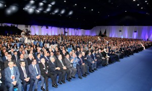 Pr Minister Designated Saad Hariri Inaugurates Future Party Conference 5