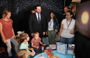 Pr Minister Designated Saad Hariri Visits the Book Fair at Biel 1