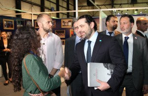 Pr Minister Designated Saad Hariri Visits the Book Fair at Biel 4