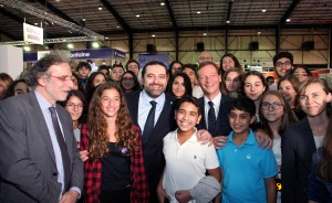 Pr Minister Designated Saad Hariri Visits the Book Fair at Biel