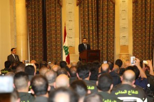 Pr Minister Saad Hariri meets a Delegation of Civil Defence 2
