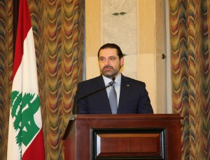Pr Minister Saad Hariri meets a Delegation of Civil Defence 3 (1)