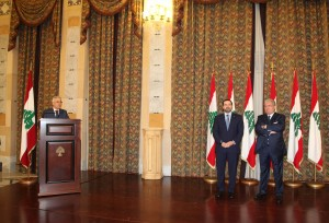 Pr Minister Saad Hariri meets a Delegation of Civil Defence 4 (1)