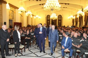 Pr Minister Saad Hariri meets a Delegation of Civil Defence 5