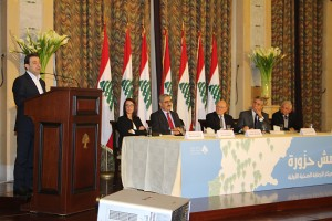 Pr Minister Tammam Salam Inaugurates a Health Conference at Grand Serail 1