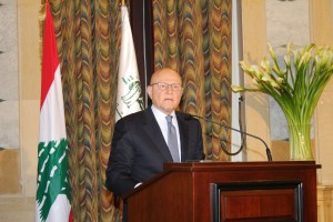 Pr Minister Tammam Salam Inaugurates a Health Conference at Grand Serail 2