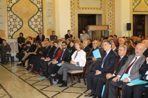 Pr Minister Tammam Salam Inaugurates a Health Conference at Grand Serail 3