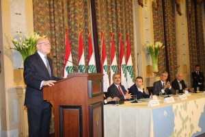 Pr Minister Tammam Salam Inaugurates a Health Conference at Grand Serail 5