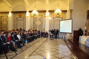 Pr Minister Tammam Salam Inaugurates a Health Conference at Grand Serail 6