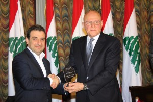 Pr Minister Tammam Salam Inaugurates a Health Conference at Grand Serail 7