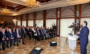 Press Conference for Former Pr Minister Saad Hariri 1 (2)