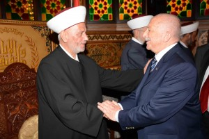 Cobgratulations at Dar El Fatwa on The Occasion of Adha Feast 3
