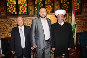Cobgratulations at Dar El Fatwa on The Occasion of Adha Feast 5