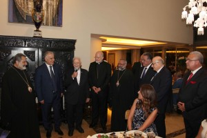 Bishop Chedraoui Honoring Mr Ghassan Skaff 2
