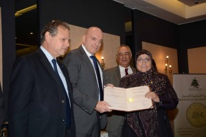 Distribution of the Lebanese Franchise Award's Evaluators at Bristol Hotel   3