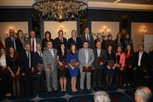 Distribution of the Lebanese Franchise Award's Evaluators at Bristol Hotel  5