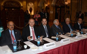 Dr Riyad Salemeh Inaugurates a Conference on Good Management of the Bank's Administrative Council at Phoenicia Hotel 1