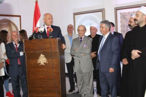 Former Minister Ghazi Aridi Inaugurates Marwan Aridi Exhibition at The UNESCO  2
