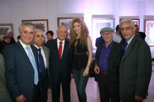 Former Minister Ghazi Aridi Inaugurates Marwan Aridi Exhibition at The UNESCO  3